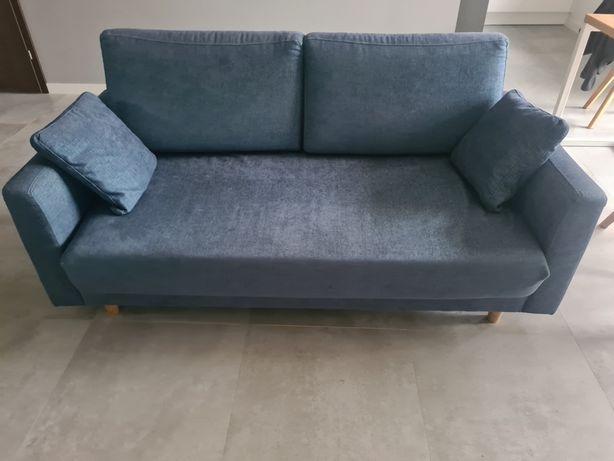 Sofa CARLY 3 osobowa styl skandynawski loft retro kanapa