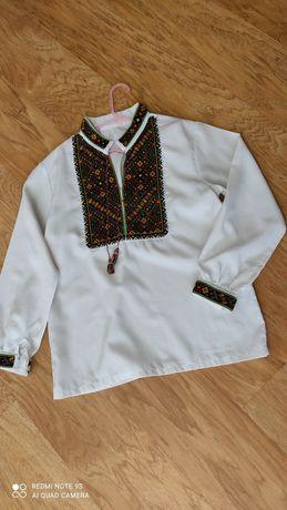 Рубашка вышитая,вышиванка ,сорочка крестиком /хрестиком,ручна робота