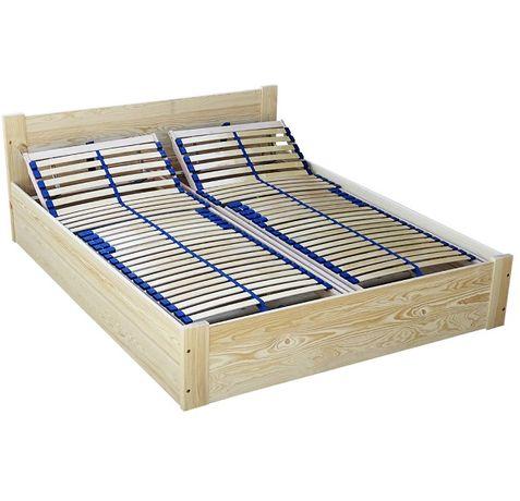 VENA 160x200 łóżko ze skrzynią stelaż regulowany głęboki pojemnik