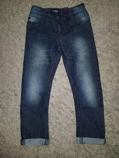 Jeansy Next 116 slim spodnie jeansowe chłopięce