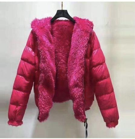 Двусторонняя куртка пуховик MONCLER