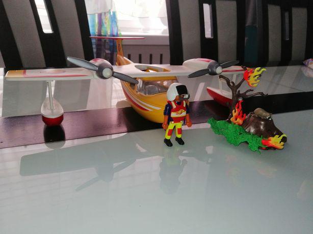 Playmobil 5560 Samolot do gaszenia pożaru