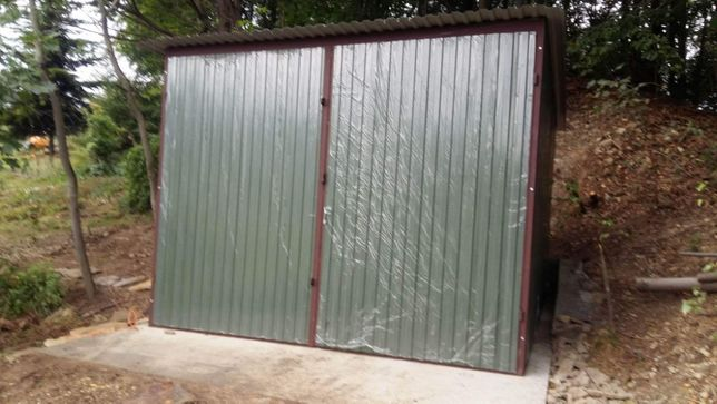 Garaż mobilny 3x5 blaszak ocynkowany wiata z montażem
