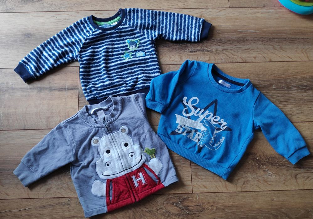 Ciepłe bluzy HM i inne 68 Robakowo - image 1