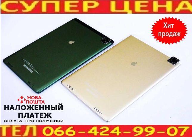 "Планшет игровой  Ipad 10""- 2Sim+ 8Ядер +3GB Ram +32Gb ROM+Android 10"