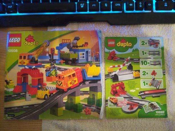 Инструкция Lego Duplo 10882 железная дорога