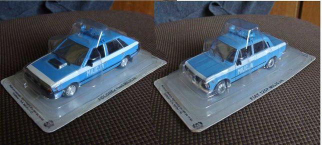 Kultowe Auta PRL Polonez 1500 Milicja i Fiat 125p Milicja (opis)