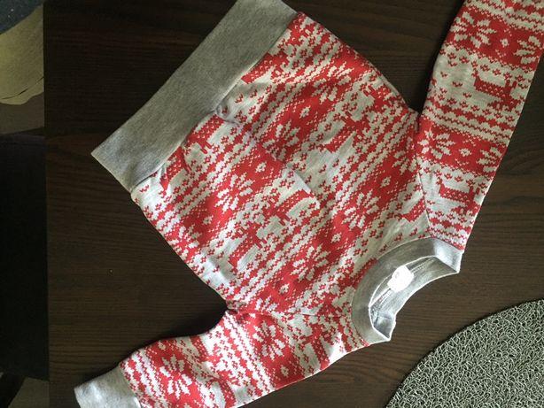 Bluza niemowlęca świąteczna r. 68