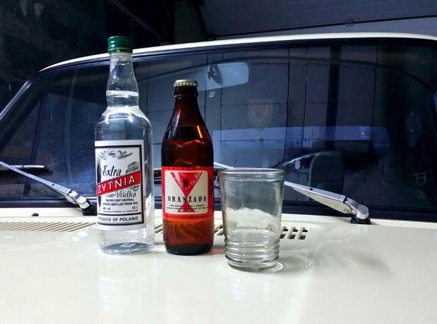 Etykieta na wódkę PRL Żytnia