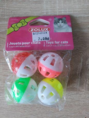Zestaw piłeczek dla kota