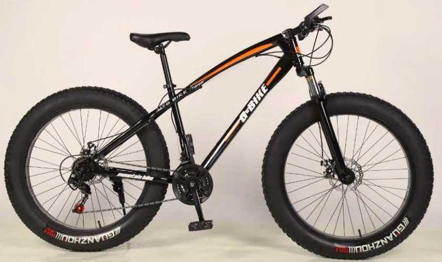Rower 17 FAT BIKE Amortyzator 21 biegów Koło 26 NOWY