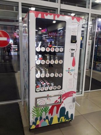 Торговый автомат для продажи снековой продукции МС-01 (Б/У)
