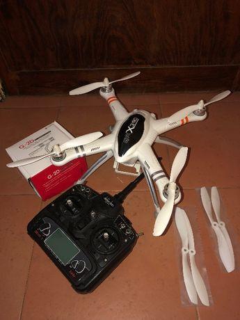 Walkera QR X350 drone quadcopter + controlador + baterias Gimble G-2D