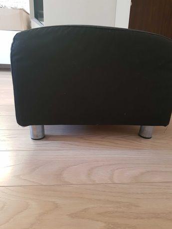Podnóżek pufa IKEA GRONLID czarny