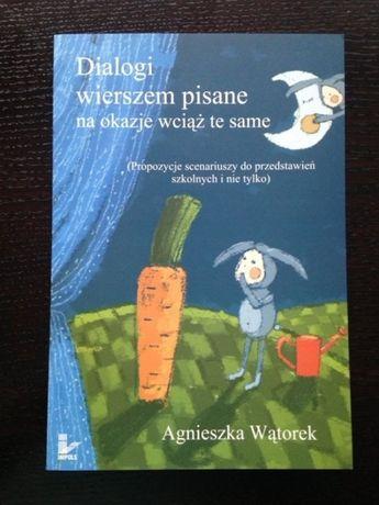 Książka-Dialogi wierszem pisane na okazje wciąż te same