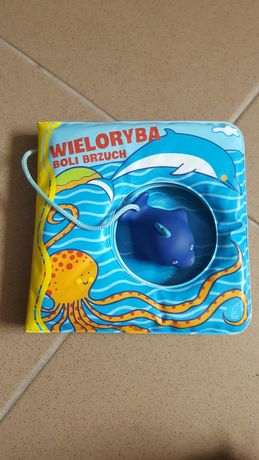 Wieloryba boli brzuch, książeczka wodoodporna