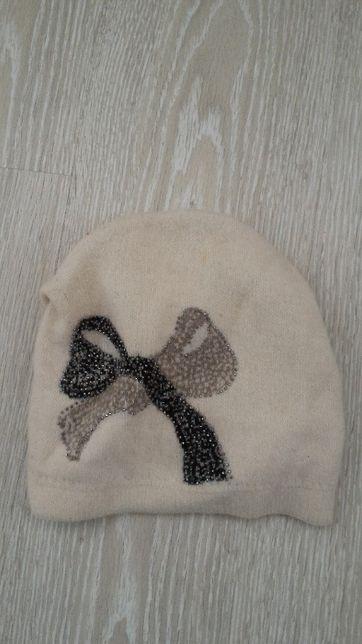 Теплая женская шапка, с ангорой