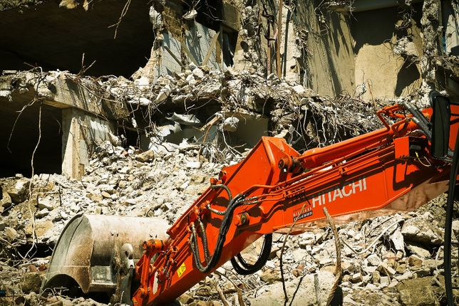 Wyburzenia budynków Rozbiórki Obiektów budowlanych Cieszyn