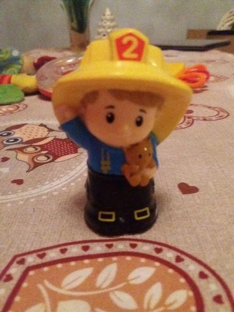 Strażak z zestawu Little people