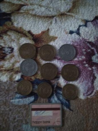 Продам детские монеты