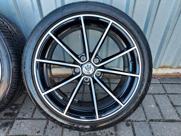 Fabryczne Koła VW GOLF 7 8 GTI R-line 225/40R18 Bridgestone 19r 9mm