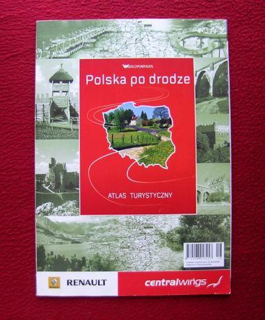 Atlas turystyczny - Polska po drodze