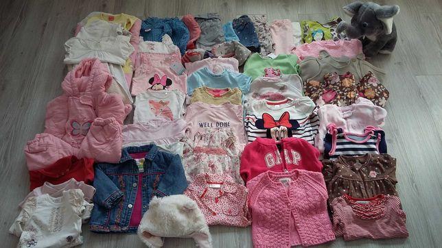 50sztuk ubranka dziewczęce 0-12 mcy zestaw 2