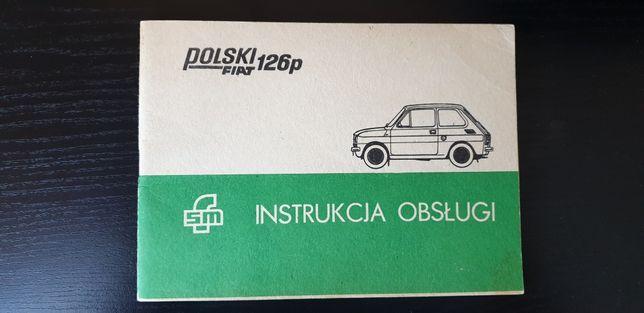 Sprzedam Oryginalną Instrukcję Fiat 126p