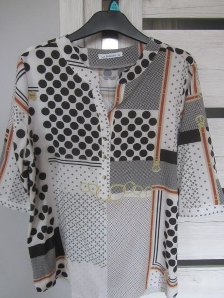Bluzka/koszula damska La blanche rozm. 42, guziki