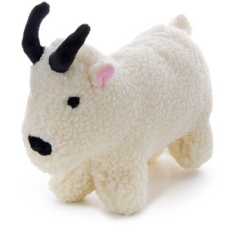 Piszcząca zabawka dla psa pies Koza z polaru