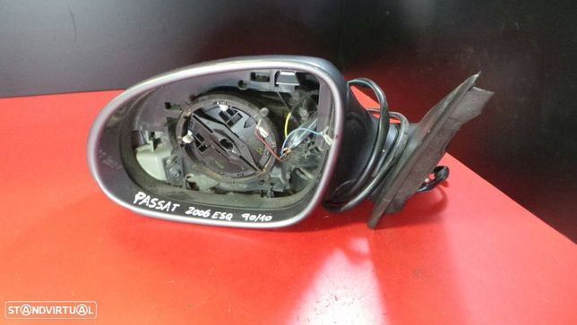 Espelho Retrovisor Esquerdo Volkswagen Passat (3C2)