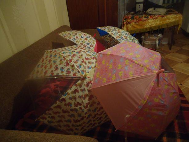 Детские зонтики тростью. ЗОНТЫ для самых маленьких деток