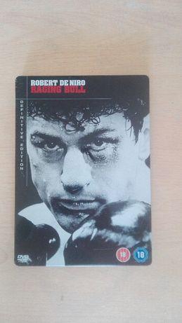 Wściekły Byk, Raging Bull De Niro DVD w metalowym pudełku