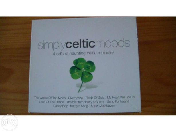 4 Cds originais de musica celta