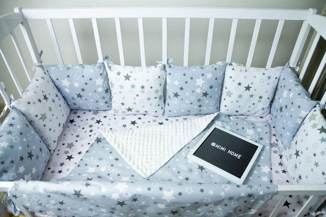 Бортики в кроватку Кокон-гнездышко для новорожденного.