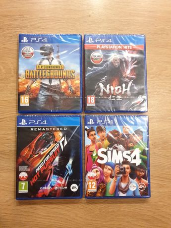 SIMS4 NIOH BATTLEGROUNDS Need for speed hot pursuit remastered PS4/PS5