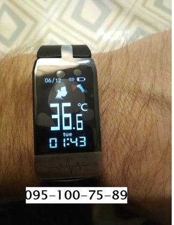 Часы Amico Go Run. Температура+Давление+ЭКГ+Пульс+Оксиметр
