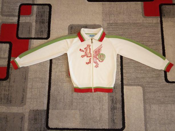 Sweterek rozpinany na zamek r. 128/134 f. Wenice