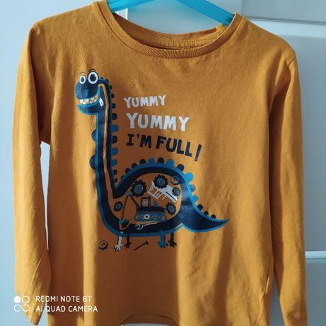 Bluzka/T-shirt z motywem dinozaura, Cool Club ,rozm.116