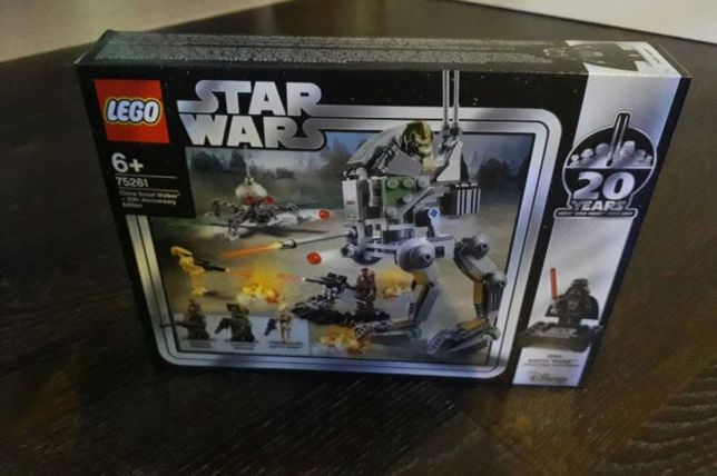 Lego Star Wars 75261 Clone Scout Walker, Nowy!