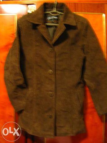 Куртка, курточка, жакет натуральный замш, размер 10