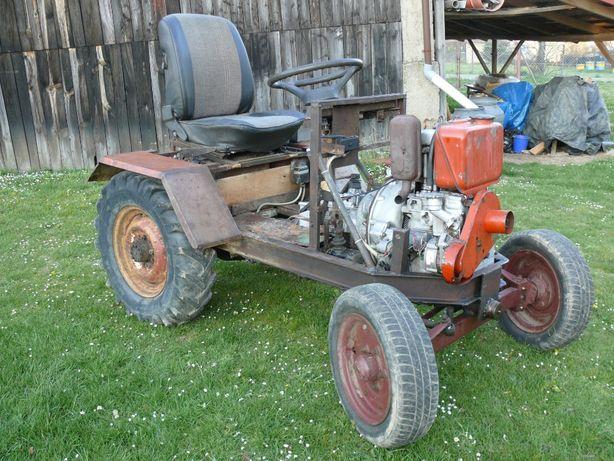 Ciągnik traktor SAM z Multicara