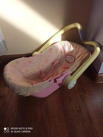 Nosidełko dla lalek Annabell, Baby Born. Stan b.dobry