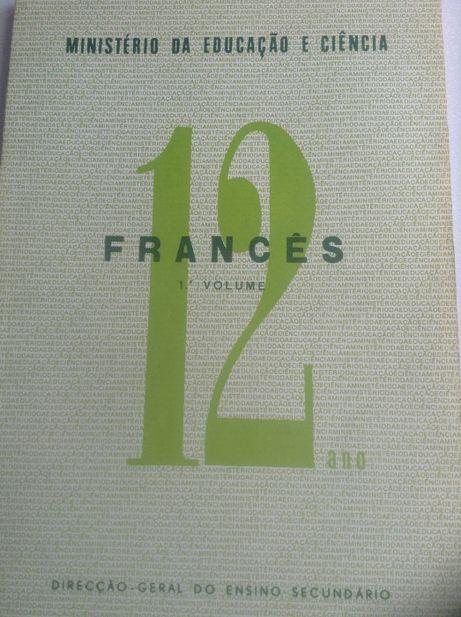 Livro de Francês para o 12º ano Volume I