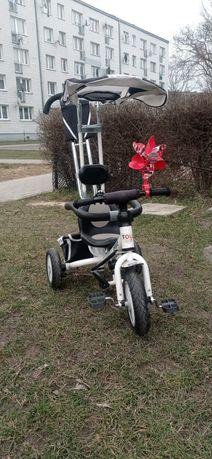 Rower Derby Toyz biało-czarny