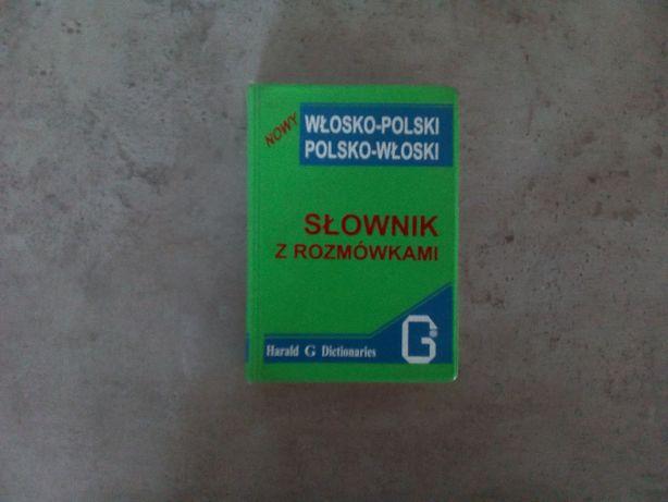 słownik z rozmówkami włosko-polski polsko-włoski