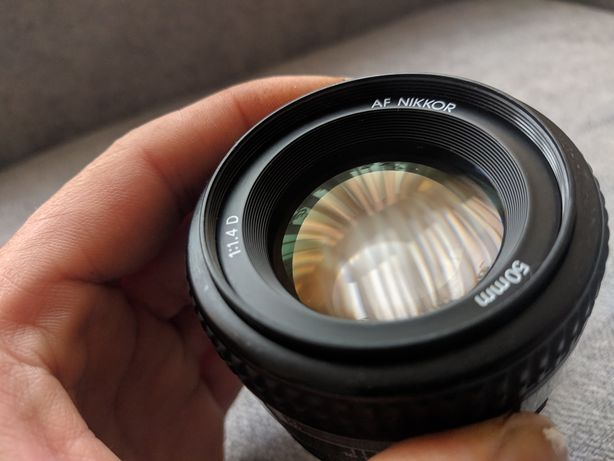 Nikon nikkor 50mm 1.4 d в чудовому стані