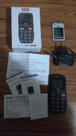 Мобильный телефон бабушкофон ergo-f184.