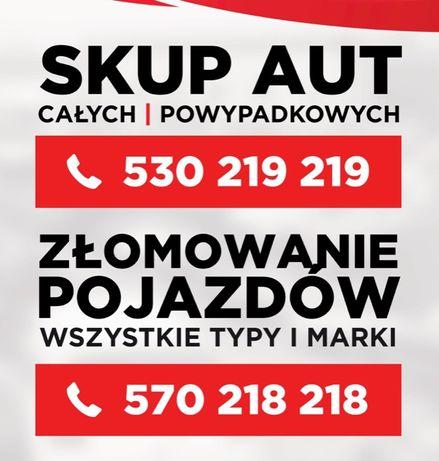 Skup aut / Złomowanie pojazdów / skup wszystkich samochodów Włocławek