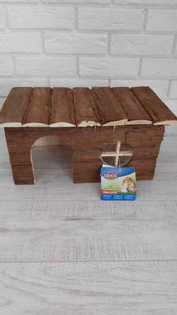 Domek  xxl dla gryzonia, królika,  świnki